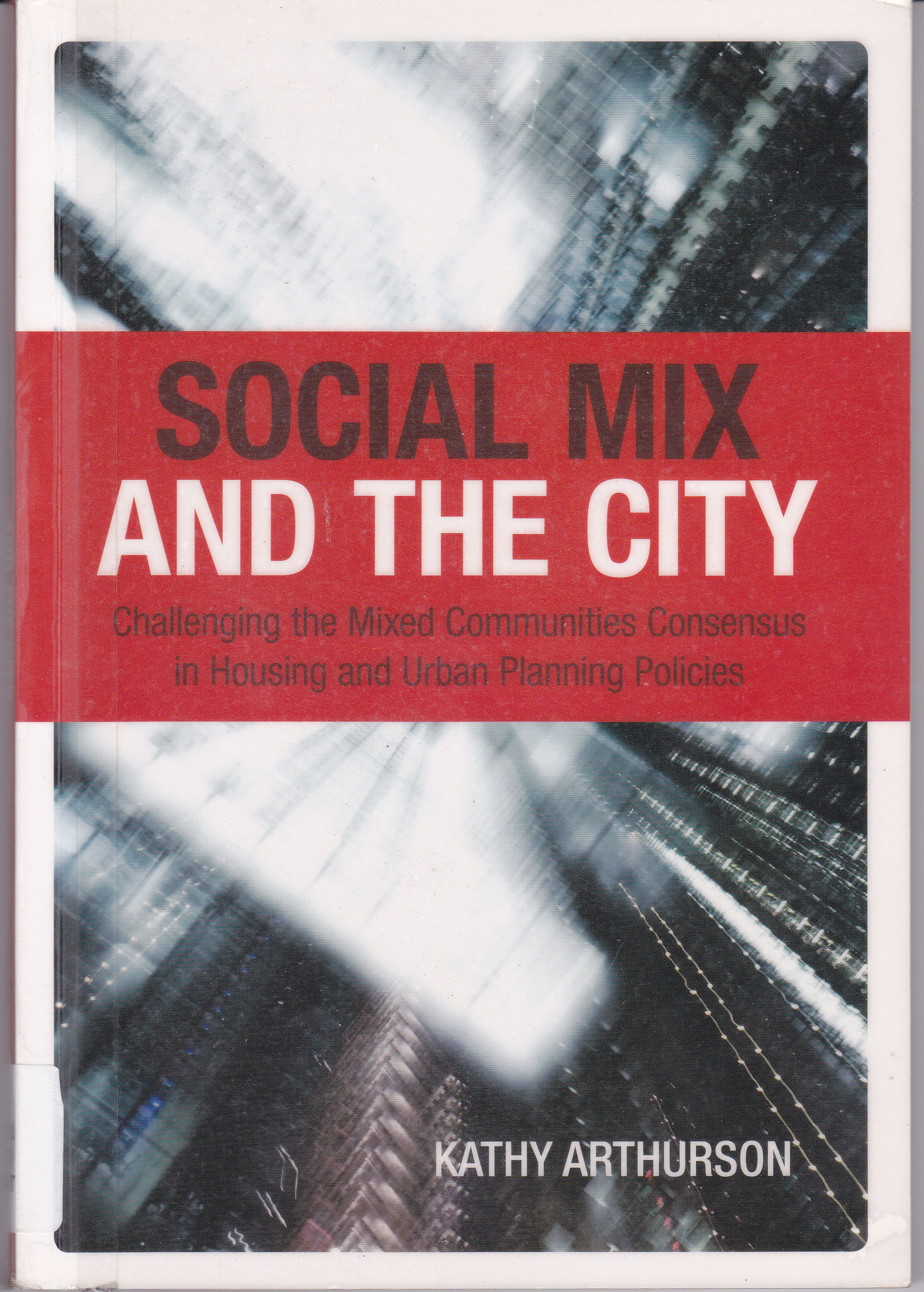 Social Mix and the City
