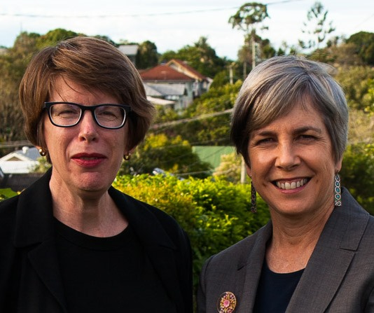 Judith Hunter and Helen Wallace